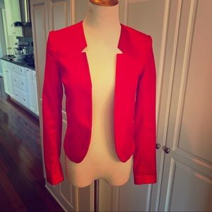 Divided H&M red blazer jacket